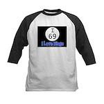 I 69 I Love Bingo Kids Baseball Jersey