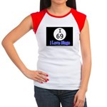 I 69 I Love Bingo Women's Cap Sleeve T-Shirt