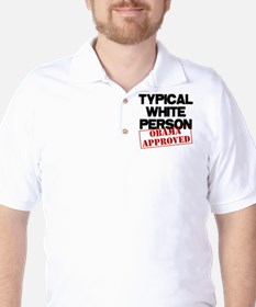 Typical White Person Golf Shirt