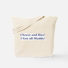 Cheese n Rice! Tote Bag