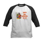 That's Mr. Bartender To You Kids Baseball Jersey
