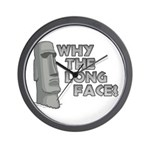 Why the Long Face? Wall Clock
