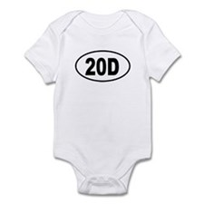 20D Infant Bodysuit