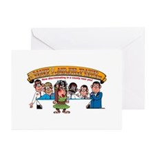 Bunch of Monkeys Greeting Cards (Pk of 10)