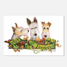 Fox Terrier Trio Postcards (Package of 8)