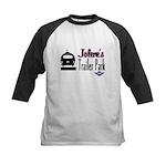 Jolene's Trailer Park Retro Kids Baseball Jersey
