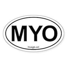 MYO Maigh Eo Oval Decal