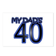 Dad's Forty Postcards (Package of 8)