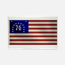 Bennington 1776 Flag Rectangle Magnet