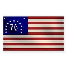 Bennington 1776 Flag Rectangle Decal