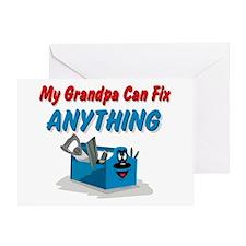 Fix Anything Grandpa Greeting Card