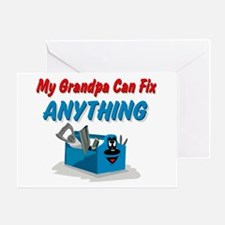 Fix Anything Grandpa Greeting Card