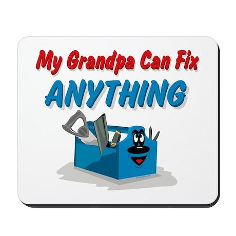 Fix Anything Grandpa Mousepad
