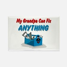 Fix Anything Grandpa Rectangle Magnet