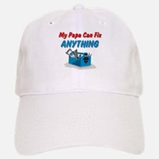Fix Anything Papa Baseball Baseball Cap
