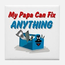 Fix Anything Papa Tile Coaster