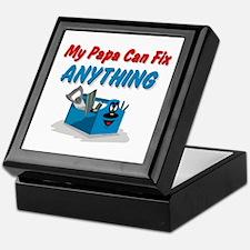 Fix Anything Papa Keepsake Box