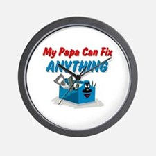 Fix Anything Papa Wall Clock