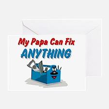 Fix Anything Papa Greeting Card