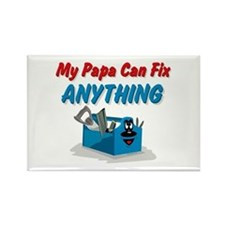 Fix Anything Papa Rectangle Magnet