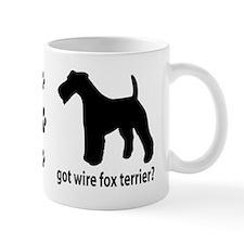 Got Wire Fox Terrier? Small Mugs