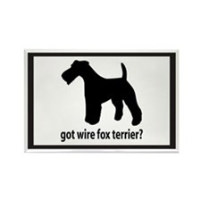 Got Wire Fox Terrier? Rectangle Magnet