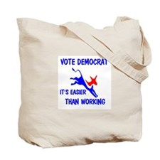 ADOPT A DEMOCRAT Tote Bag