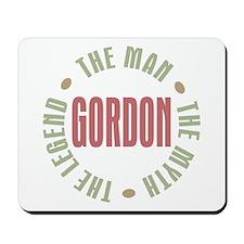 Gordon Man Myth Legend Mousepad