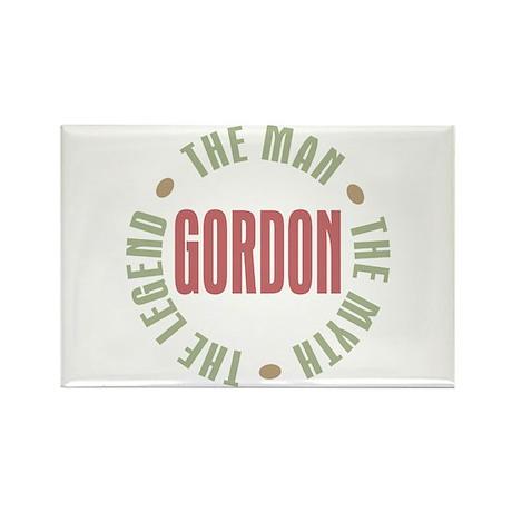 Gordon Man Myth Legend Rectangle Magnet (100 pack)