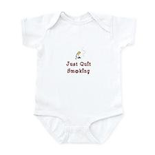 Just Quit Smoking Infant Bodysuit