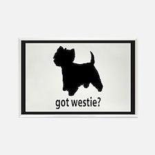 Got Westie? Rectangle Magnet