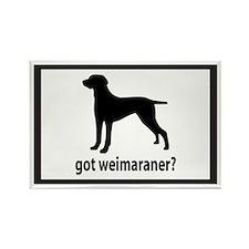 Got Weimaraner? Rectangle Magnet