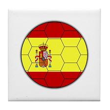 La Furia Roja Tile Coaster
