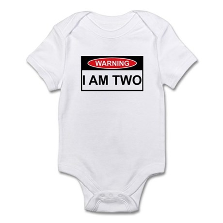 Birthday Warning Sign Infant Bodysuit