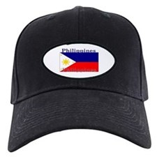 Philippines Filipino Flag Baseball Hat
