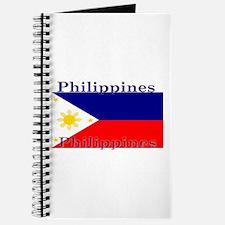 Philippines Filipino Flag Journal