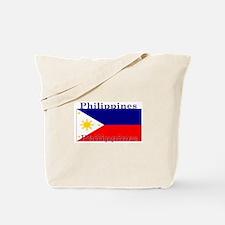 Philippines Filipino Flag Tote Bag
