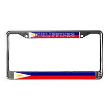 Philippines Filipino Flag License Plate Frame