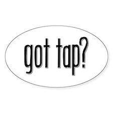 Got Tap? Oval Stickers