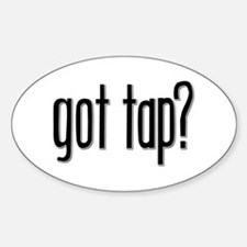 Got Tap? Oval Stickers