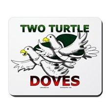 Two Turtle Doves Mousepad