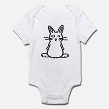 Fluffy Bunny of Doom Infant Creeper