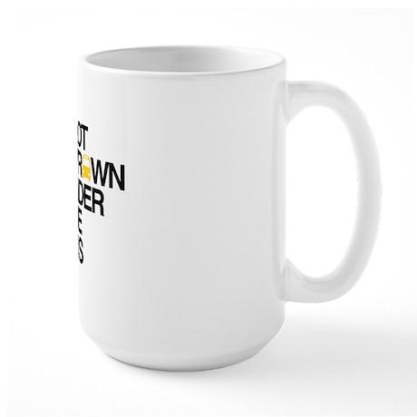 """""""Thrown Under the Bus"""" Large Mug"""