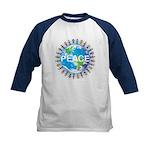 Kids World Peace Baseball Tee