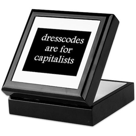 Anti-Capitalism Keepsake Box