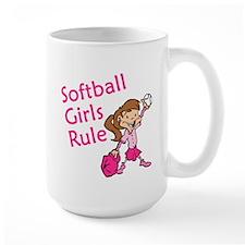 Softball girls Rule Mug