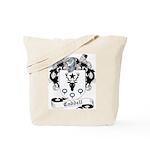 Caddell Family Crest Tote Bag