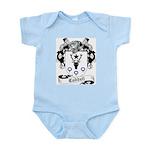 Caddell Family Crest Infant Creeper