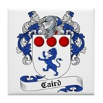 Caird Family Crest Tile Coaster