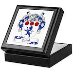 Caird Family Crest Keepsake Box
